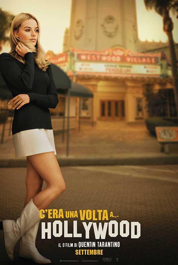 C'era una volta a Hollywood - poster con Margot Robbie