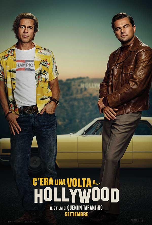 C'era una volta a Hollywood - poster ufficiale italiano del film