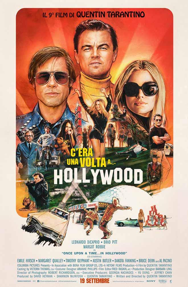 C era una volta a Hollywood poster