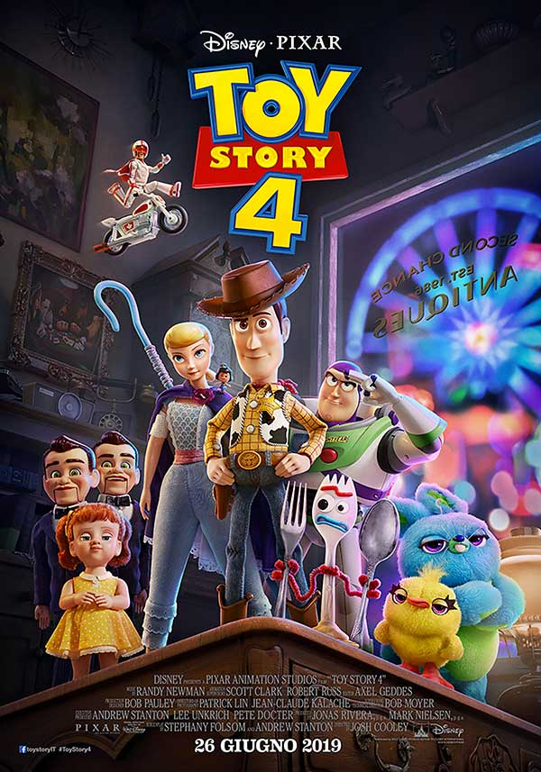 Toy Story 4 poster film