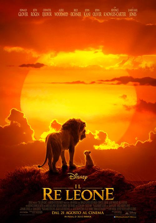 Il Re Leone locandina del film 2019
