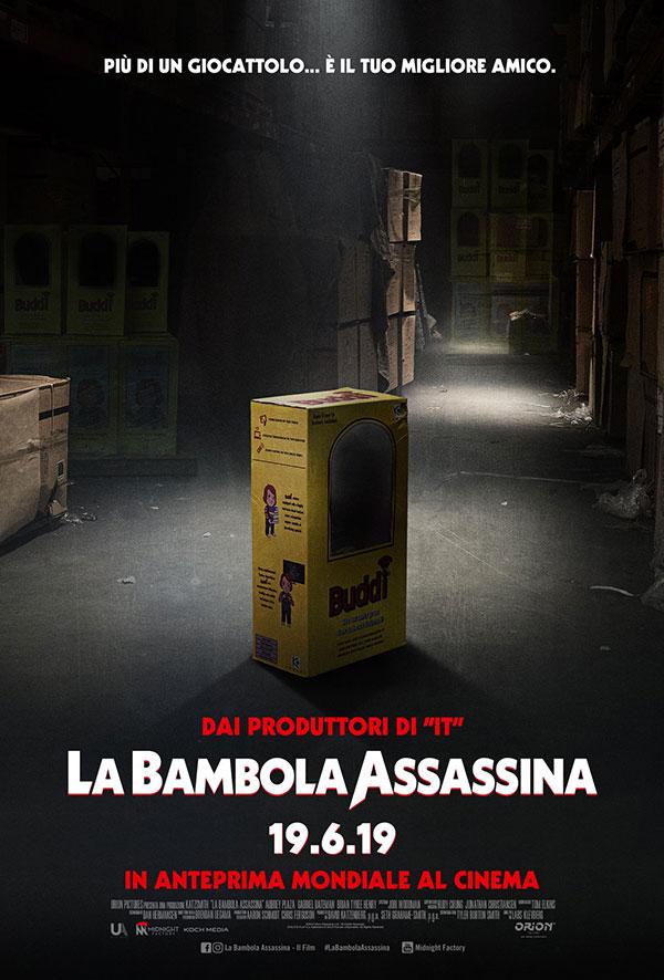 La bambola Assassina teaser poster 2019