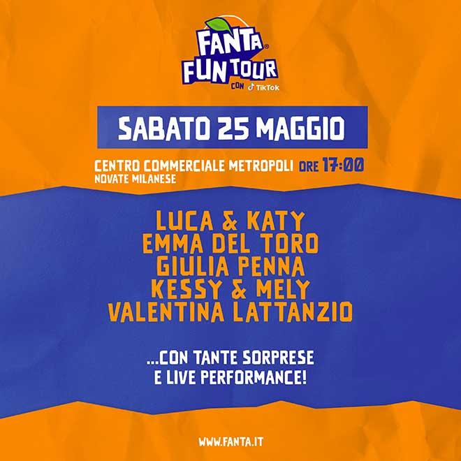 Fanta Fun Tour 25 maggio