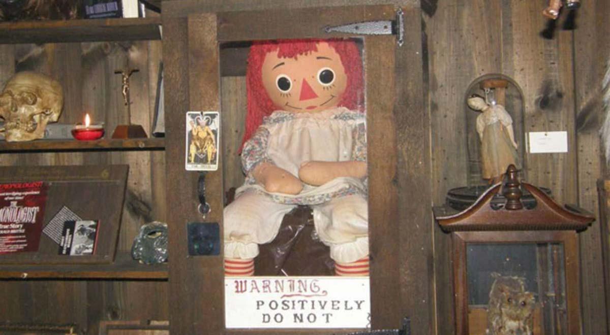 Annabelle la vera bambola