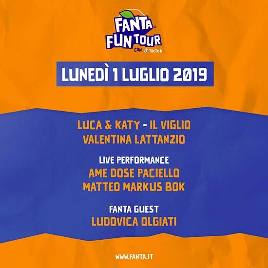Fanta Fun Tour 2019 1 luglio