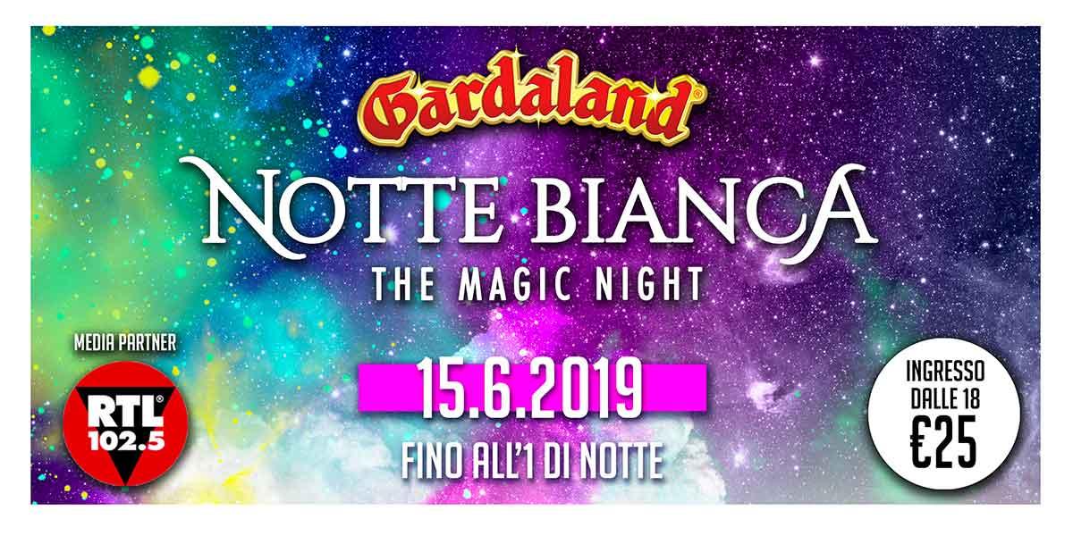 Gardaland Notte Bianca 2019