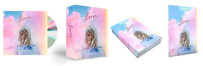 Lover Taylor Swift versioni nuovo album