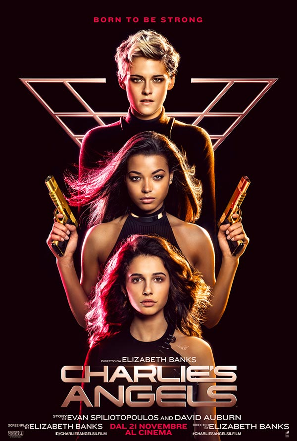 CHARLIE'S ANGELS teaser poster italiano