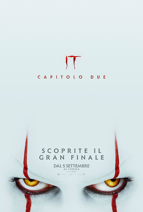 IT capitolo 2 poster film 2019