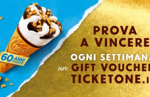 Concorso Cornetto Ticketone.it