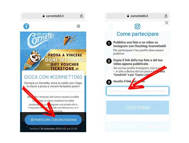 Contest Cornetto