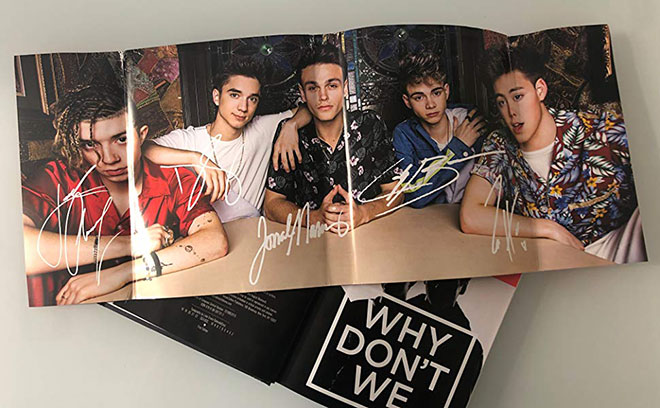 poster libro Why Don't we