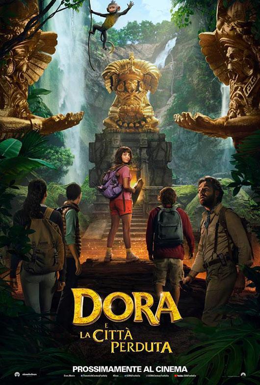 copertina del film Dora e la città perduta