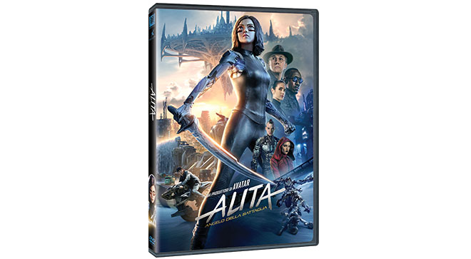 Alita film DVD