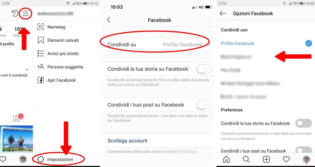 collegare instagram a facebook aziendale