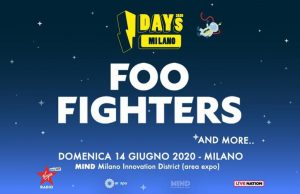 Foo Fighters Milano 2020 I-Days