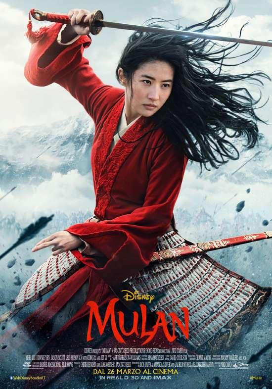 Mulan poster ufficiale italiano