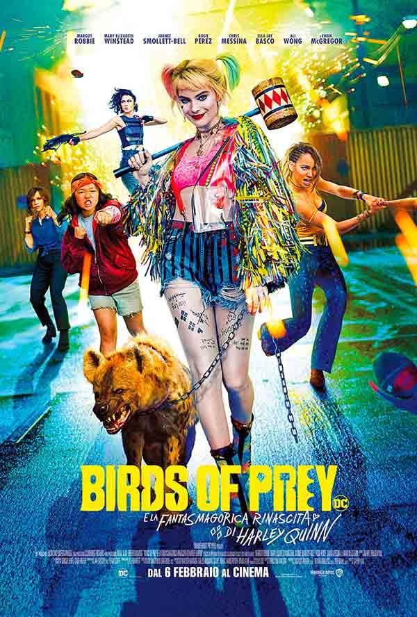 Birds Of Prey poster film 2020
