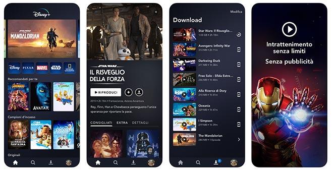 Disney Plus App ufficiale