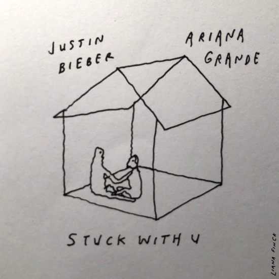 Stuck With U cover