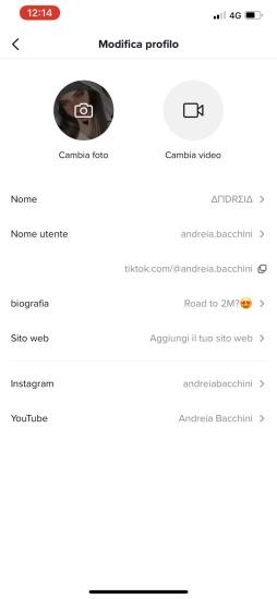 TikTok Link in bio