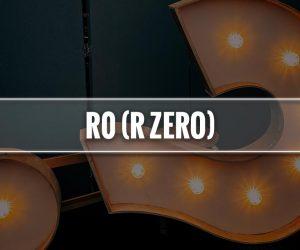 R zero significato