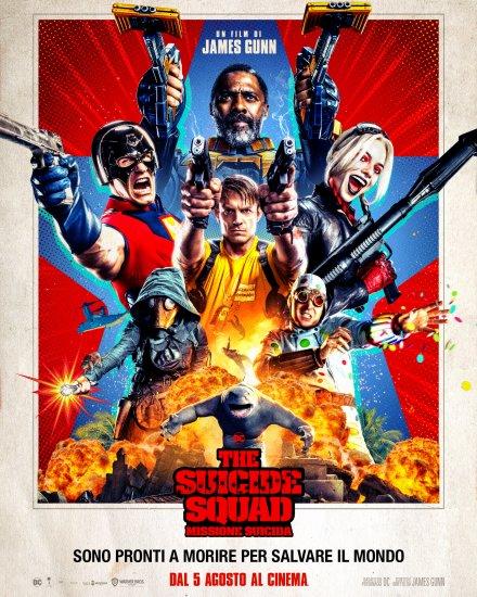 The Suicide Squad Missione Suicida Poster