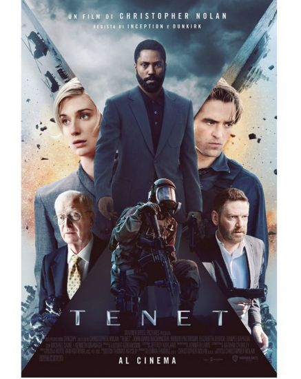 Tenet Poster Ufficiale