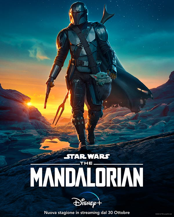 The Mandalorian seconda stagione poster