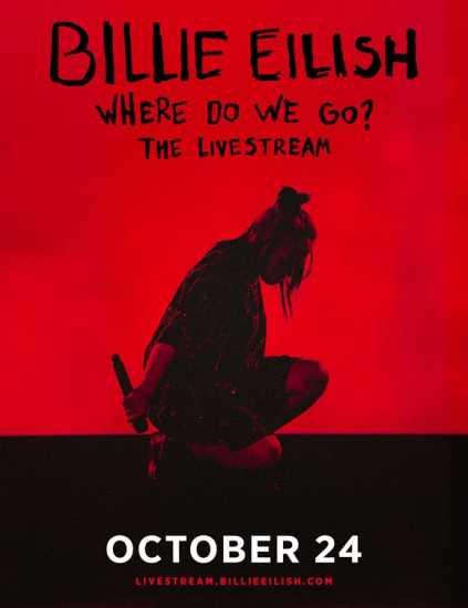 Where do we go the livestream Billie Eilish