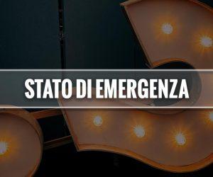 stato di emergenza significato