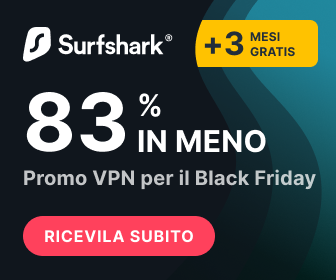 Surfshark VPN Offerta Black Friday