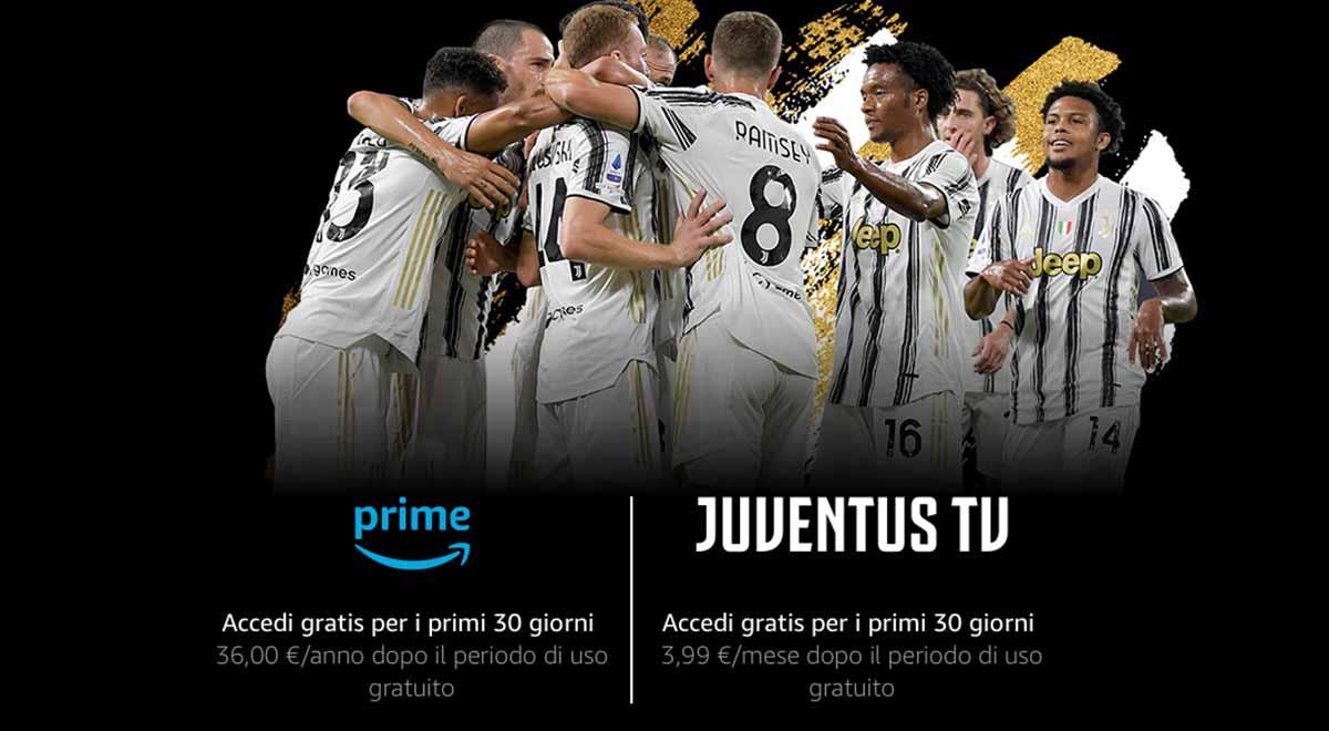 Juventus TV prime video