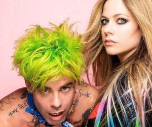 Flames Mod Sun Avril Lavigne