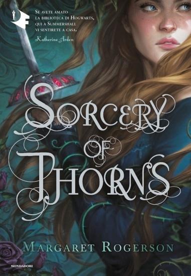Sorcery of Thorns di Margaret Rogerson copertina
