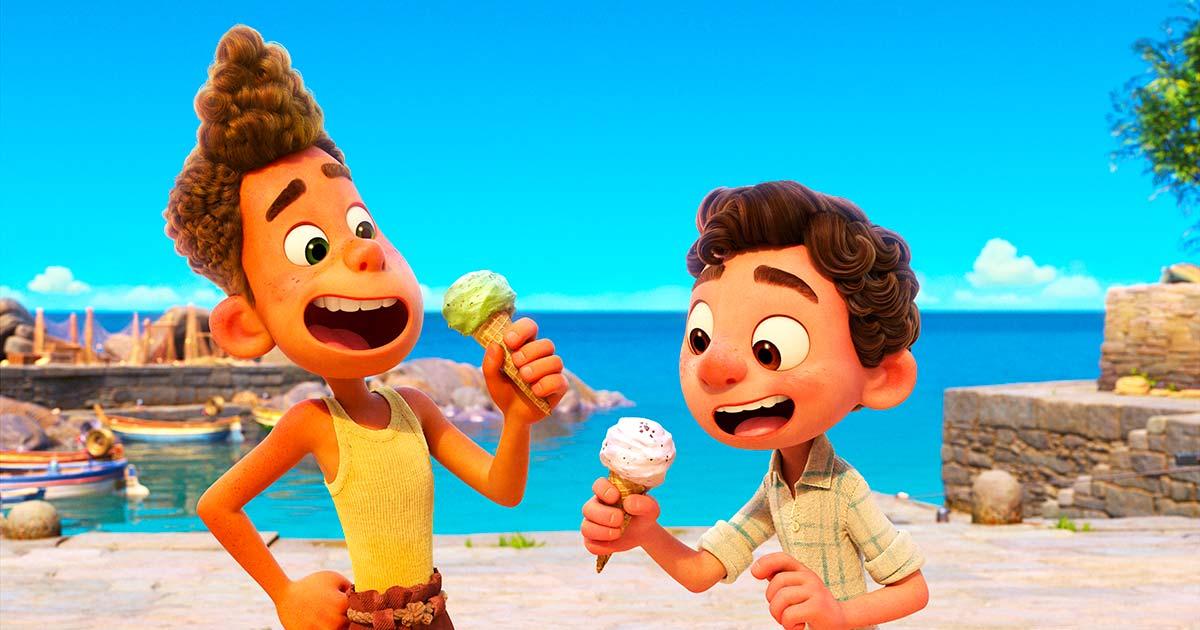 Luca film Disney Pixar foto