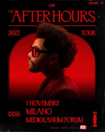 The Weeknd concerto Milano