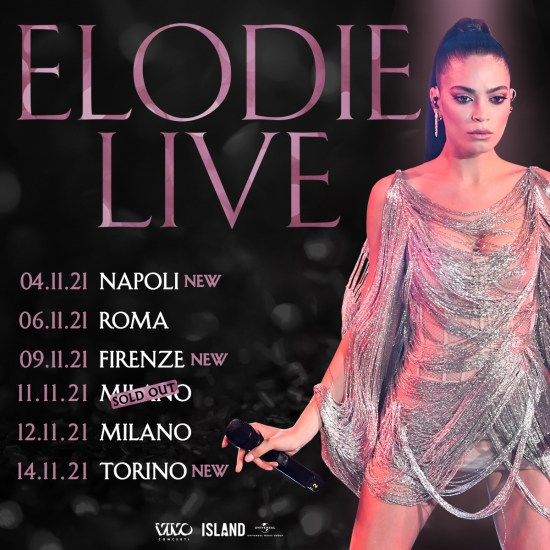 Elodie Live ph credit Matteo Rasero_LaPresse