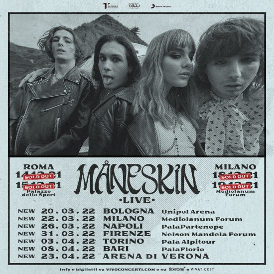Maneskin tour