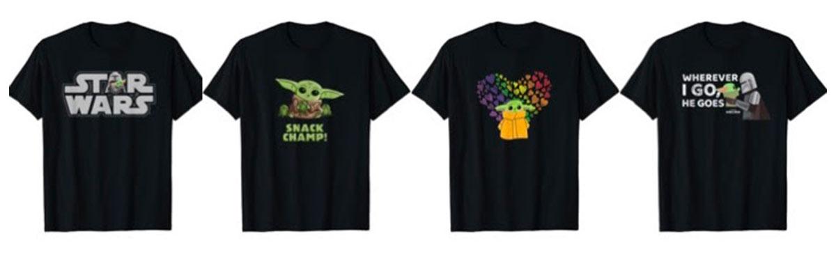 T-shirt Star Wars su Amazon