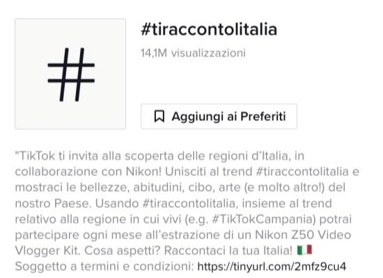 tiktok ti racconto l'italia