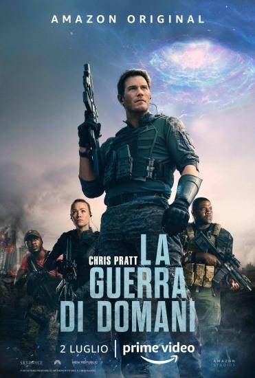 La Guerra di domani Poster ufficiale