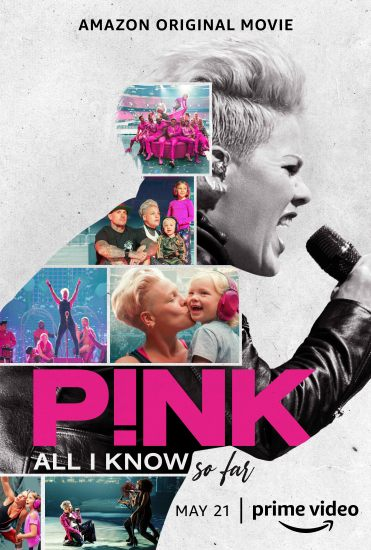 PINK All I Know So Far Poster