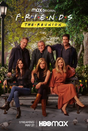 Poster Friends Reunion HBO Max