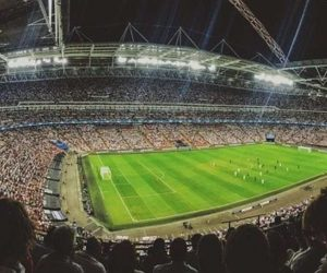 Pubblico partita di calcio