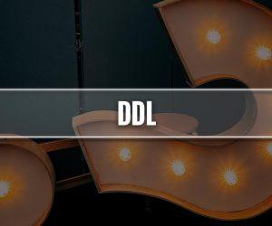 DDL significato