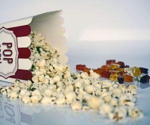 popcorn e caramelle al cinema
