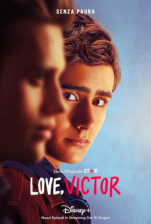 Love Victor 2 key art poster Disney plus