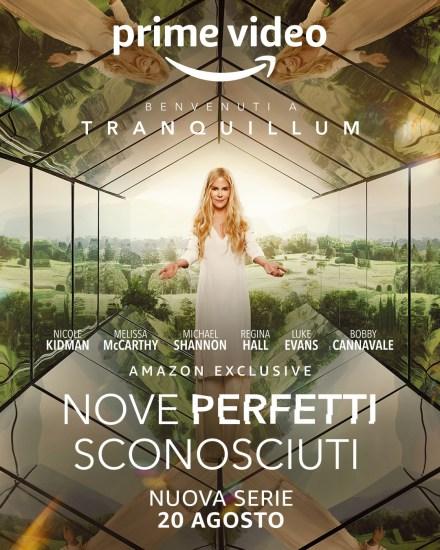 Nove perfetti sconosciuti poster ufficiale