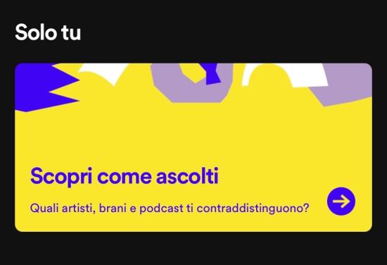 Spotify banner Solo Tu